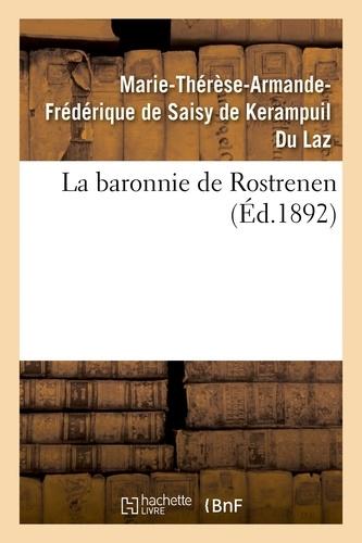 Hachette BNF - La baronnie de Rostrenen.