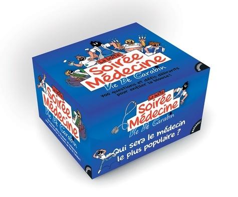 La boîte Soirée Médecine Vie de Carabin. Avec 240 cartes