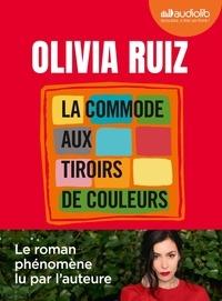 Olivia Ruiz - La commode aux tiroirs de couleurs. 1 CD audio MP3