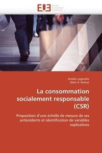 Amélie Legendre - La consommation socialement responsable CRS.
