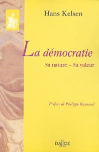 Hans Kelsen - La démocratie - Sa nature, sa valeur.