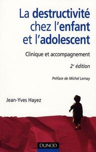 Jean-Yves Hayez - La destructivité chez l'enfant et l'adolescent - Clinique et accompagnement.