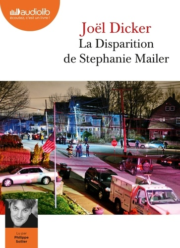 La Disparition de Stephanie Mailer  avec 2 CD audio MP3