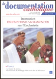 Vincent Cabanac et Francis Arinze - La documentation catholique N° 2314, 16 mai 2004 : Redemptionis Sacramentum - Instruction sur l'Eucharistie.