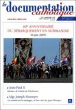 Vincent Cabanac et Michel Santier - La documentation catholique N° 2317 4 juillet 20 : 60e anniversaire du débarquement en Normandie (6 juin 2004).