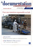 Vincent Cabanac - La documentation catholique N° 2354, Mars 2006 : Pour une transition responsable en Irak.