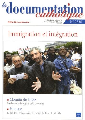 Vincent Cabanac - La documentation catholique N° 2358, Mai 2006 : Immigration et intégration.