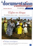 Vincent Cabanac et  Collectif - La documentation catholique N° 2365, Octobre 200 : L'Eglise en Afrique.