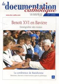 La documentation catholique N° 2366, 15 Octobre.pdf