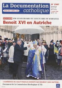 La documentation catholique N° 2387, 7 octobre 2.pdf