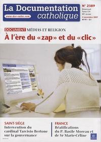 La documentation catholique N° 2389, 4 novembre.pdf