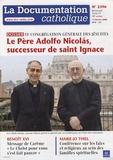 Marie-Jo Thiel - La documentation catholique N° 2396, 17 février : 35e congrégation générale des Jésuites.