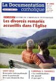 Vincent Cabanac - La documentation catholique N° 2402, 18 mai 2008 : Les divorcés remariés accueillis dans l'Eglise - Lettre du cardinal Tettamanzi.