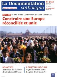 La documentation catholique N° 2432, 18 octobre.pdf