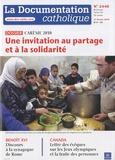 Jean-François Petit - La documentation catholique N° 2440 : Une invitation au partage et à la solidarité.