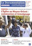 Jean-François Petit - La documentation catholique N° 2442, 21 mars 201 : L'Eglise au Moyen-Orient : communion et témoignage - Lineamenta du synode des évêques.