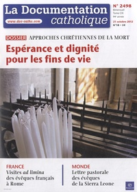 La documentation catholique N° 2498, 21 octobre.pdf