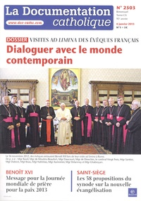 La documentation catholique N° 2503, 6 janvier 2.pdf