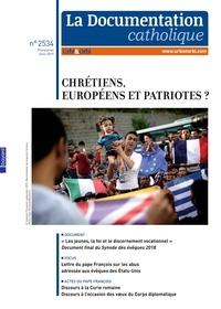Dominique Greiner - La documentation catholique N° 2534, avril 2019 : Chrétiens, Européens et patriotes ?.