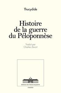 Thucydide - La guerre du Péloponnèse.