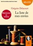 Grégoire Delacourt - La liste de mes envies. 1 CD audio MP3