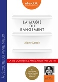 Marie Kondo - La magie du rangement. 1 CD audio MP3