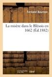 Fernand Bournon - La misère dans le Blésois en 1662.