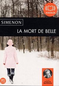 Georges Simenon - La Mort de Belle. 1 CD audio MP3