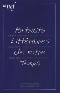 Christophe Geffroy - La Nef Hors série n°16, Nov : Portraits Littéraires de notre temps.