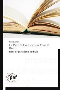 La paix et léducation chez E. Kant - Essais de philosophie politique.pdf