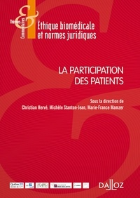 Christian Hervé et Michèle Stanton-Jean - La participation des patients.