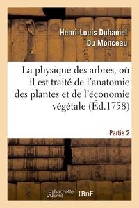 Henri-Louis Duhamel du Monceau - La physique des arbres, où il est traité de l'anatomie des plantes. Partie 2.