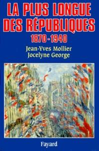 Jean-Yves Mollier et Jocelyne George - .
