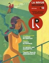Franck Bourgeron - La revue dessinée N° 12, Eté 2016 : .