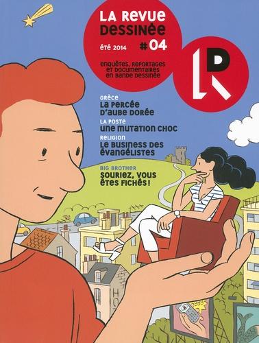 Franck Bourgeron - La revue dessinée N° 4 été 2014 : .