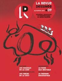 Franck Bourgeron - La revue dessinée N° 9, automne 2015 : .