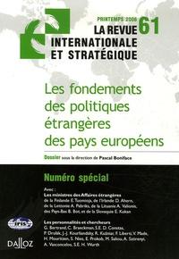 Pascal Boniface - La revue internationale et stratégique N° 61, Printemps 200 : .