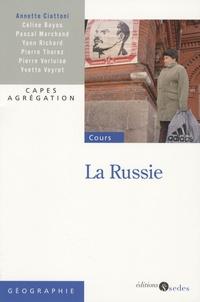 Annette Ciattoni - La Russie.