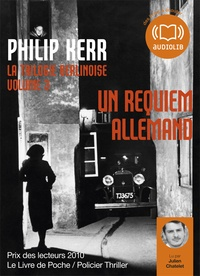 Philip Kerr - La trilogie berlinoise - Volume 3, Un requiem allemand. 1 CD audio MP3