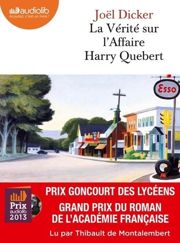 La vérité sur l'affaire Harry Quebert  avec 2 CD audio MP3