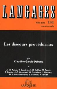Claudine Garcia-Debanc - Langages N° 141 Mars 2001 : Les discours procéduraux.