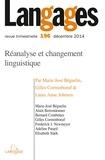 Marie-José Béguelin et Gilles Corminboeuf - Langages N° 196, Décembre 201 : Réanalyse et changement linguistique.