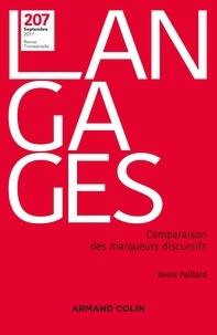 Denis Paillard - Langages N° 207, septembre 20 : Comparaison des marqueurs discursifs.