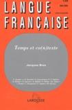 Jacques Bres - Langue française N° 138 Mai 2003 : Temps et co(n)texte.
