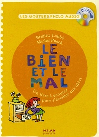 Brigitte Labbé et Michel Puech - Le bien et le mal - CD audio.