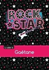 XXX - Le cahier de Gaétane - Séyès, 96p, A5 - Rock Star.