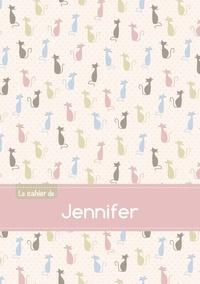 XXX - Le cahier de Jennifer - Séyès, 96p, A5 - Chats.