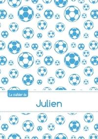XXX - Le cahier de Julien - Petits carreaux, 96p, A5 - Football Marseille.