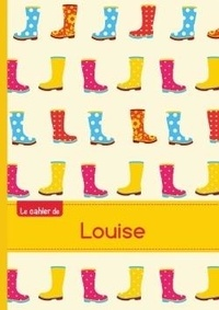 XXX - Le cahier de Louise - Blanc, 96p, A5 - Bottes de pluie.