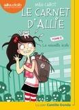 Meg Cabot - Le carnet d'Allie Tome 2 : La nouvelle école. 1 CD audio MP3